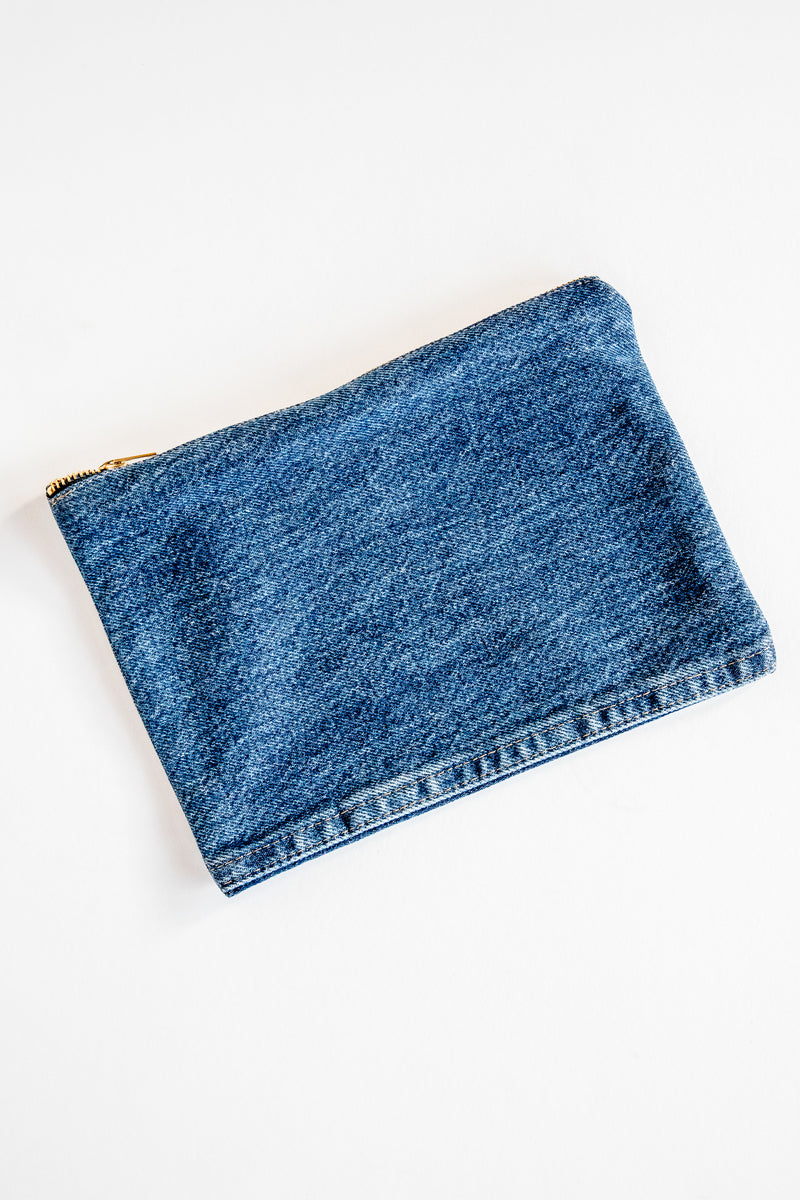 Rodeo Zipper Clutch