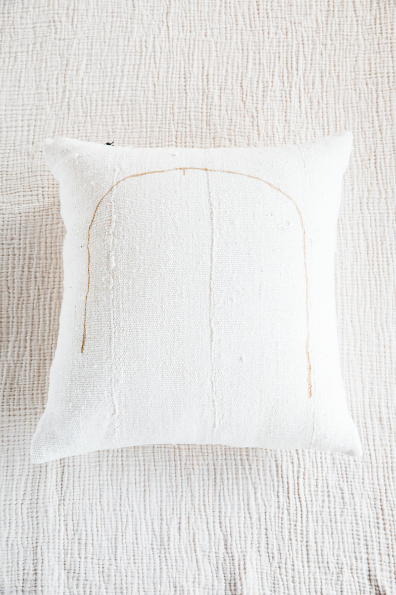 Natural + Tan Tookus Pillow