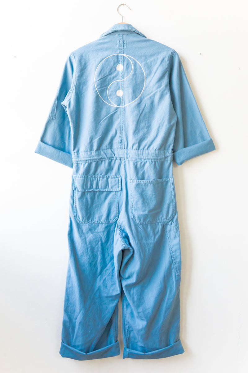 X Prism Blue Yin Yang Coveralls