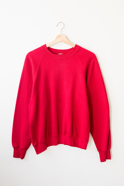 Cherry Red Sweatshirt