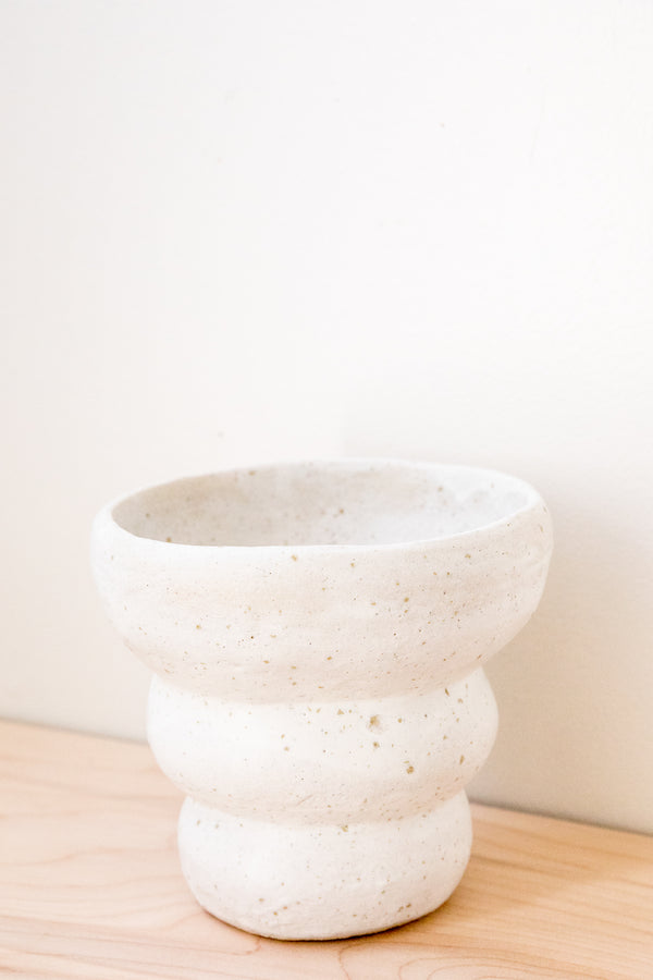 Salt Bubble Mesa Vase