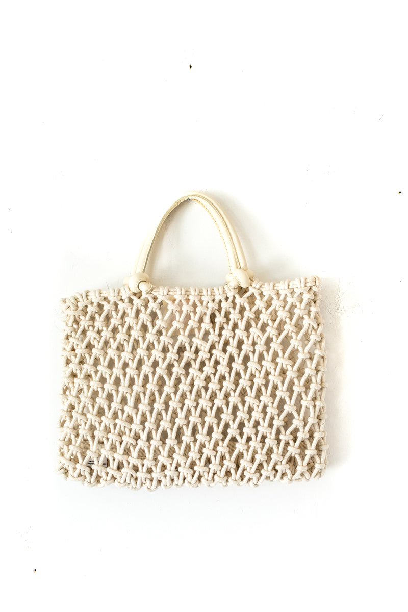 Cream Petite Sandy Bag