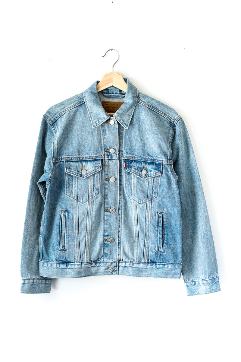 For Real Ex- Boyfriend Trucker Jacket