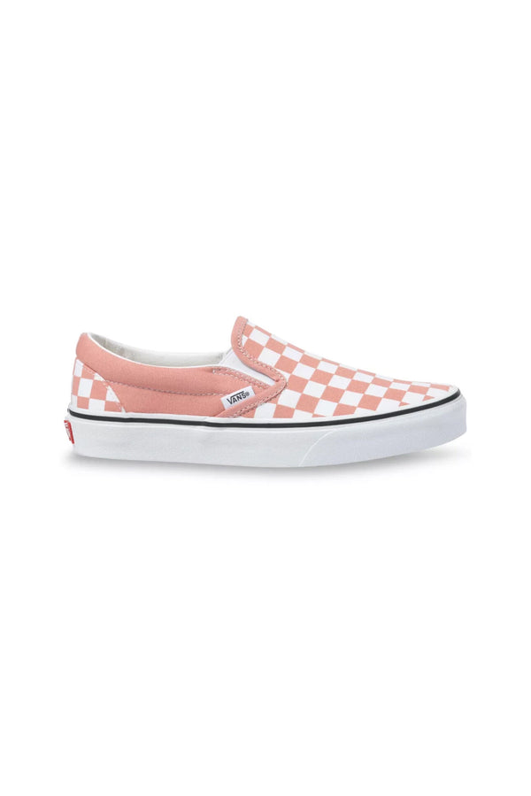 Rose Dawn Checkerboard Slip-On