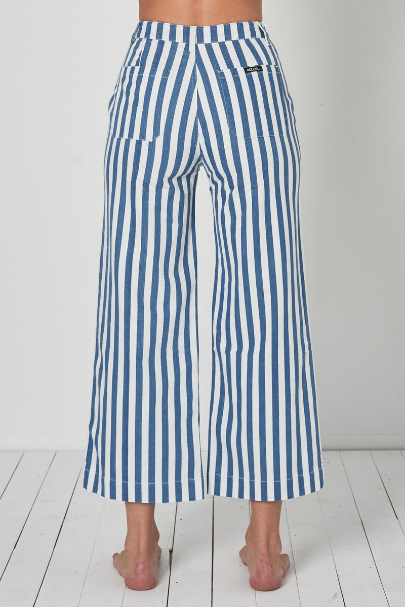 Bay Blue Stripe Old Mate Pant