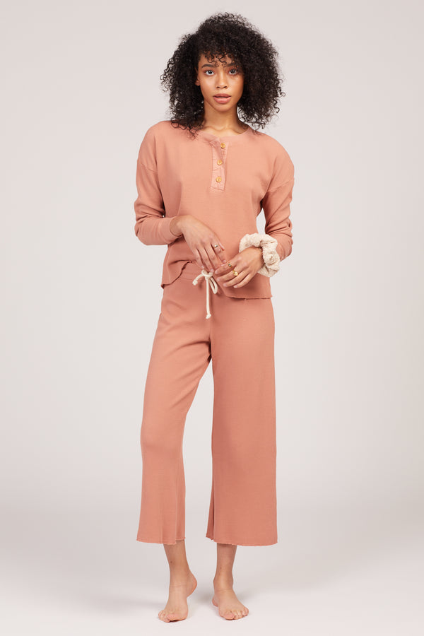 Terracotta Ali Thermal Pants