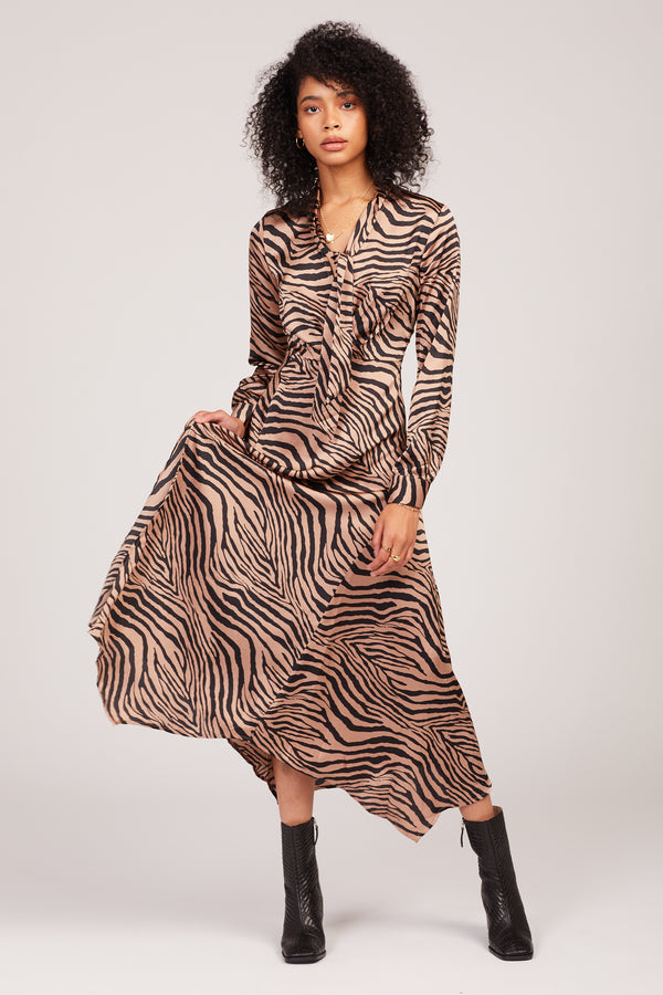 Tiger Stripe Juliette Dress