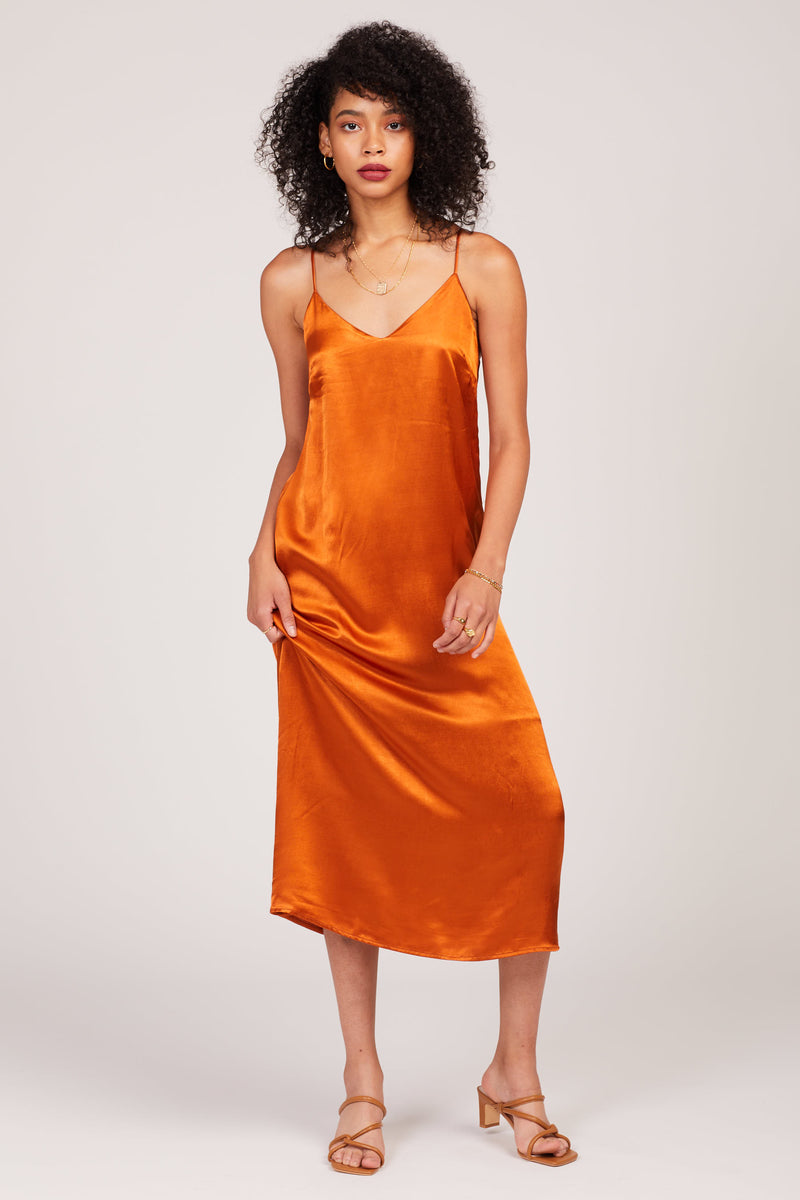 Rust Jade Dress