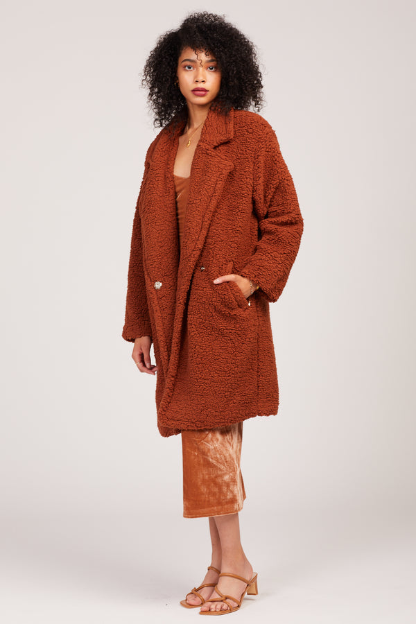 Camel Hampton Coat
