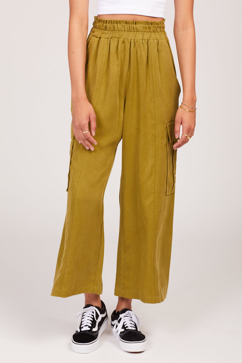 Avocado Tencel Lounge Cargo Pants