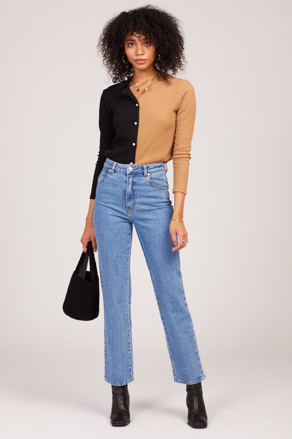 Cindy Blue Original Straight Jeans