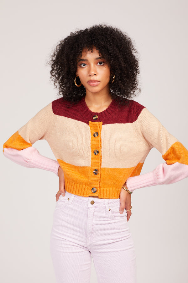 Candy Corn Hailey Cardigan