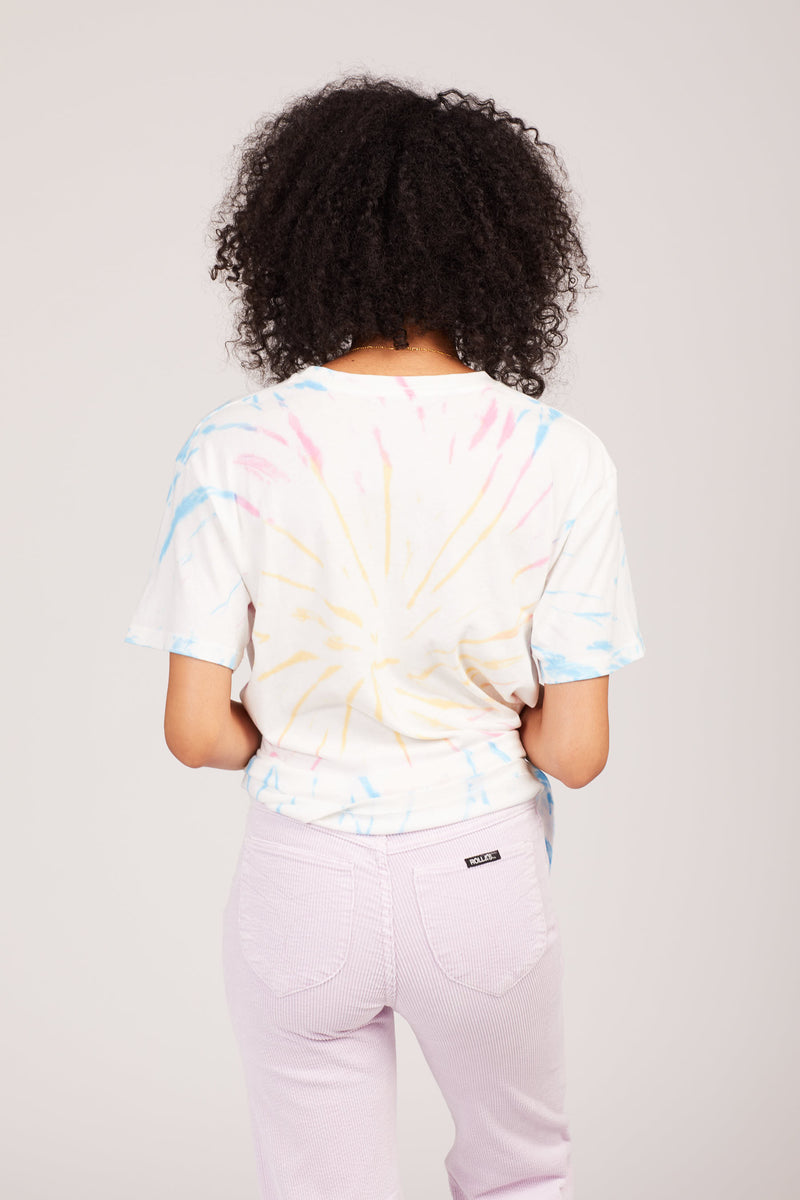 Starburst Tie Dye Weekend Tee