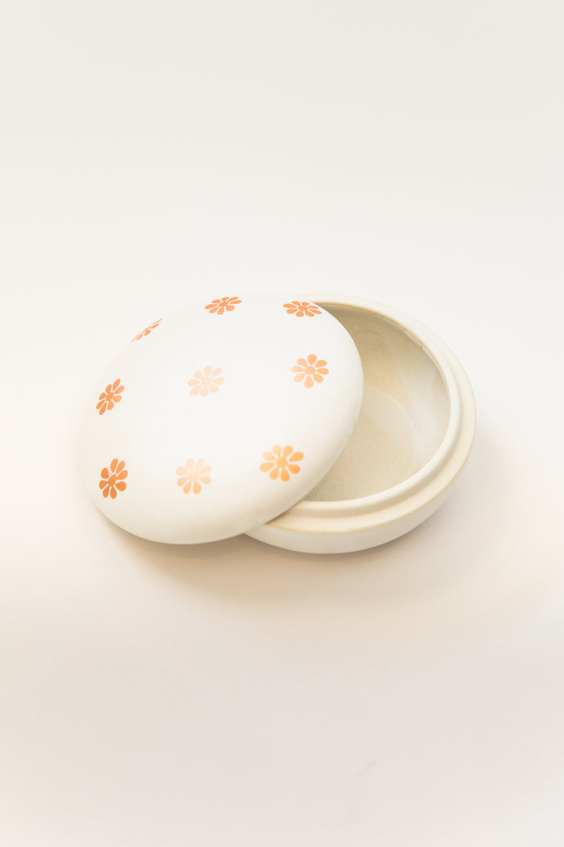 Daisy Ceramic Box