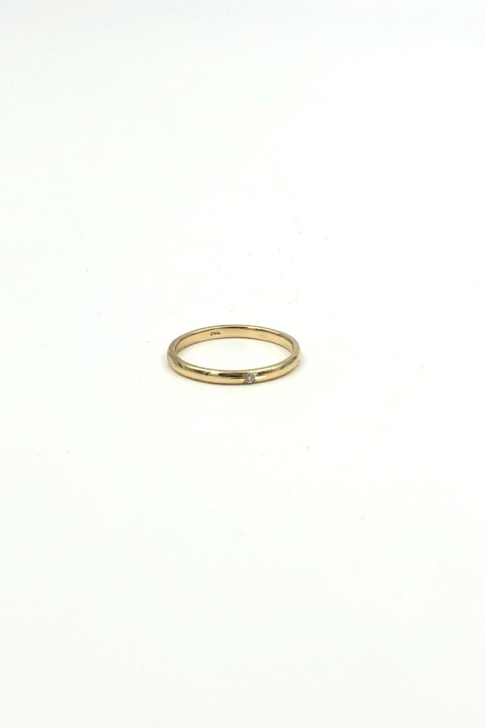 Gold Small Secret Ring