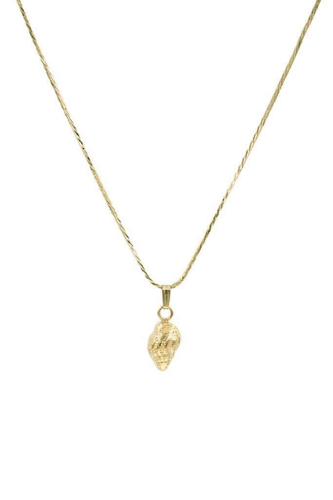 Gold Conch Necklace