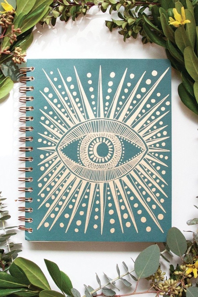 Spruce Green Seeing Eye Planner