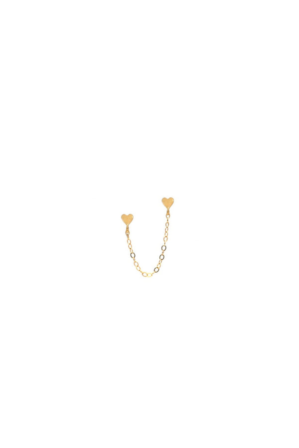 Gold Sweet Love Earring