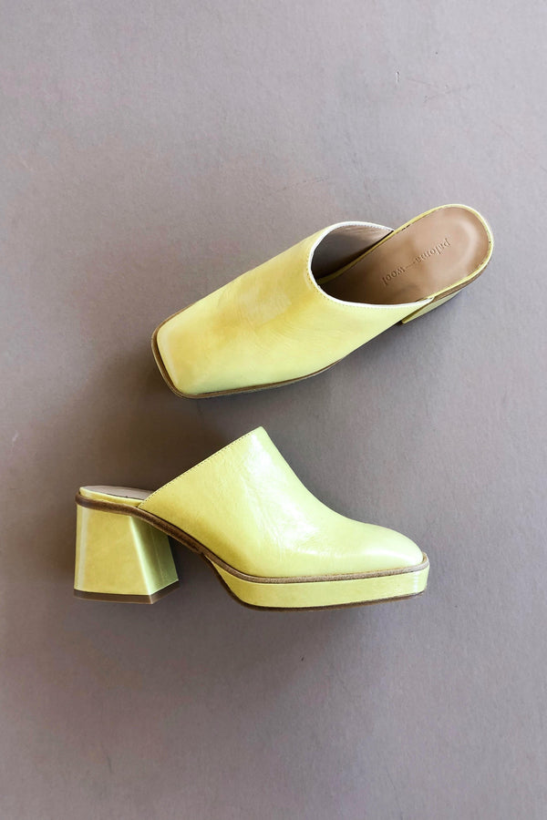 Light Green Mercurio Clog
