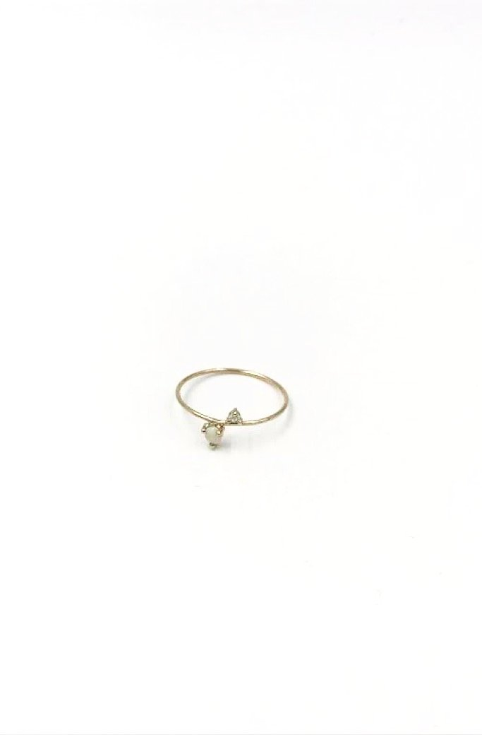 14k Together Ring