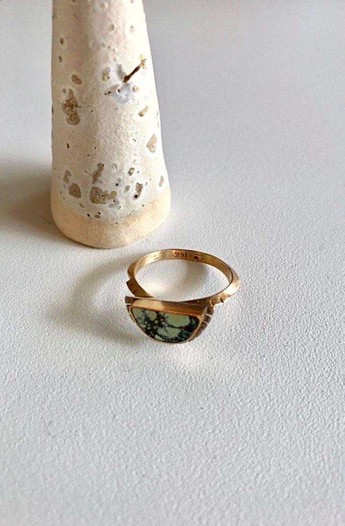 14K Gold Selene Ring