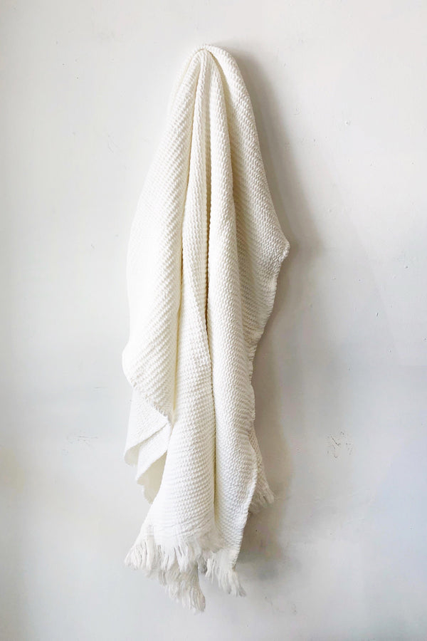 White Ella Towel