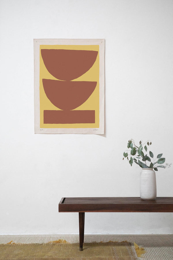 Rust Paloma Canvas Print