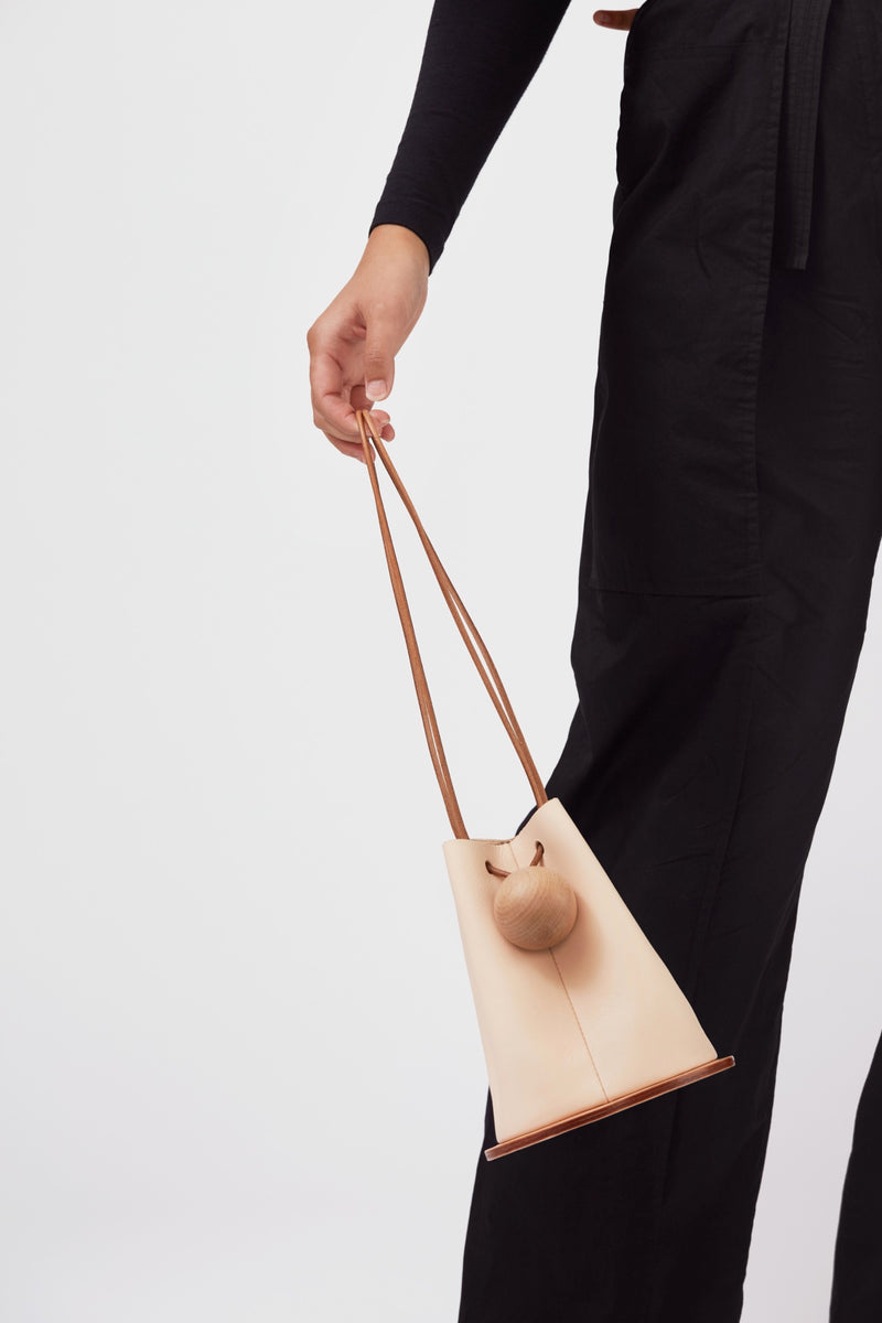 Tan Disc Bag