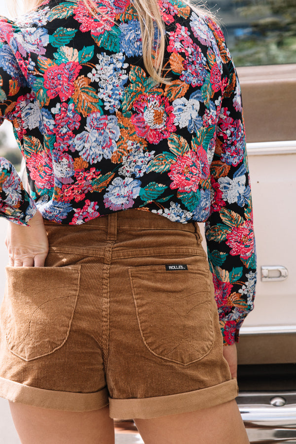 Tobacco Cord Dusters Shorts