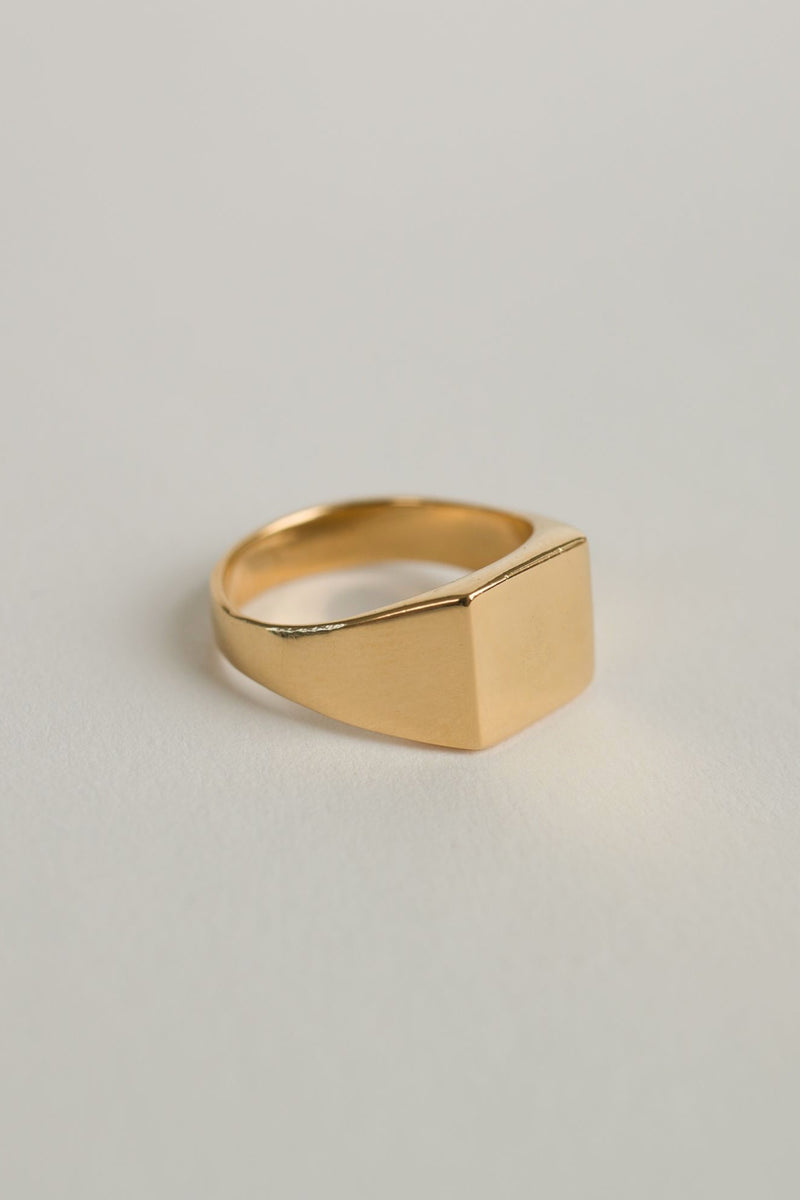 Gold Guy Ring