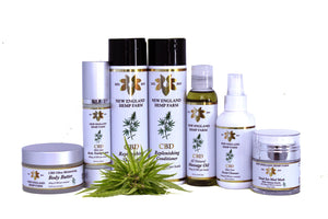 beauty products  natural hemp oil