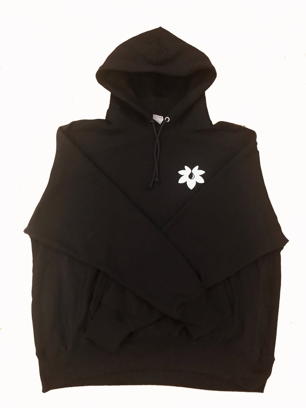 The Black Hemp Plant Hoodie