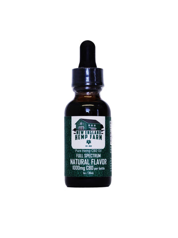 CBD Full Spectrum 500mg Drops- Natural