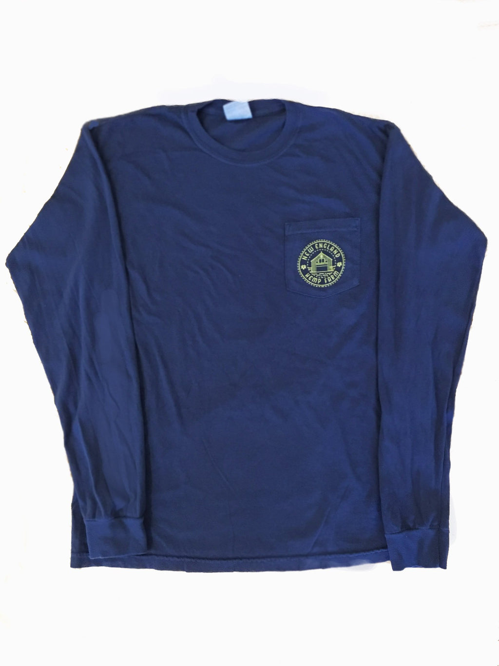 The Navy Long Sleeve Flower Tee