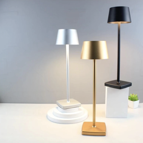 Dainty Waterproof LED Table Lamp with Rechargeable Batteries