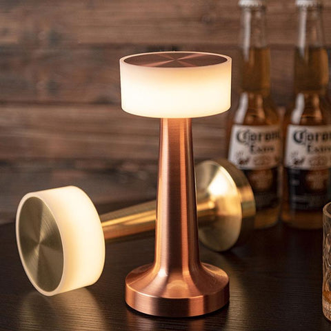 Touch Sensor LED Table Lamp with Rechargeable Batteries