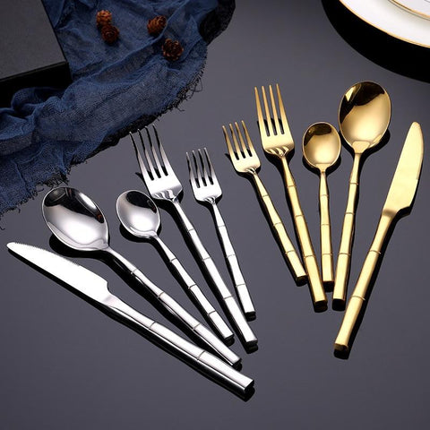 bamboo-stainless-steel-flatware-set