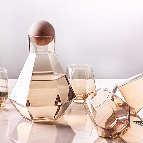 diamond-carafe-and-glass-set
