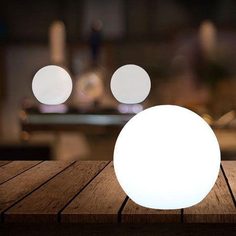 Moon Cordless LED Table Lamp with Rechargeable Batteries