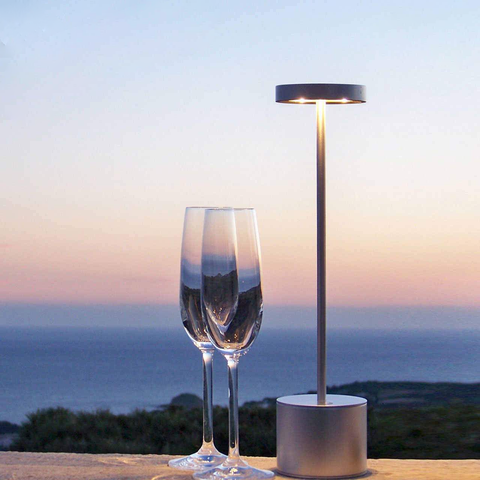 Loft LED Table Lamp with Rechargeable USB Batteries