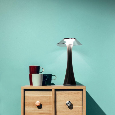 Smart Touch Table Lamp with Rechargeable Batteries
