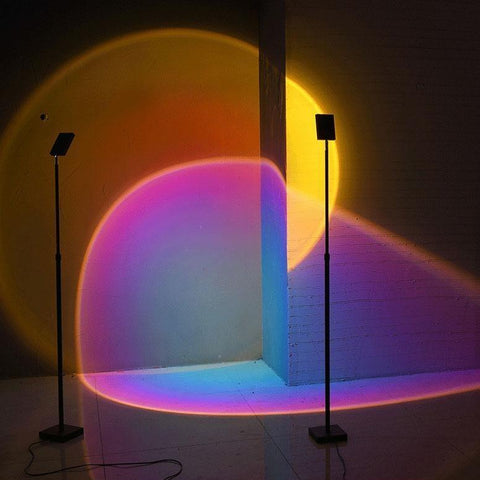 shop Prism Aura Floor and Table Lamp