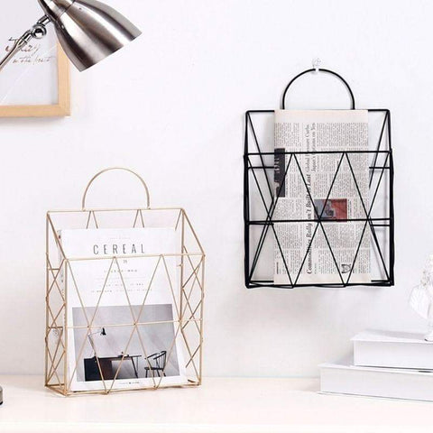 wires-crossed-hanging-magazine-holder