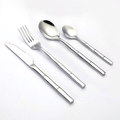 Bamboo Stainless Steel Flatware Set