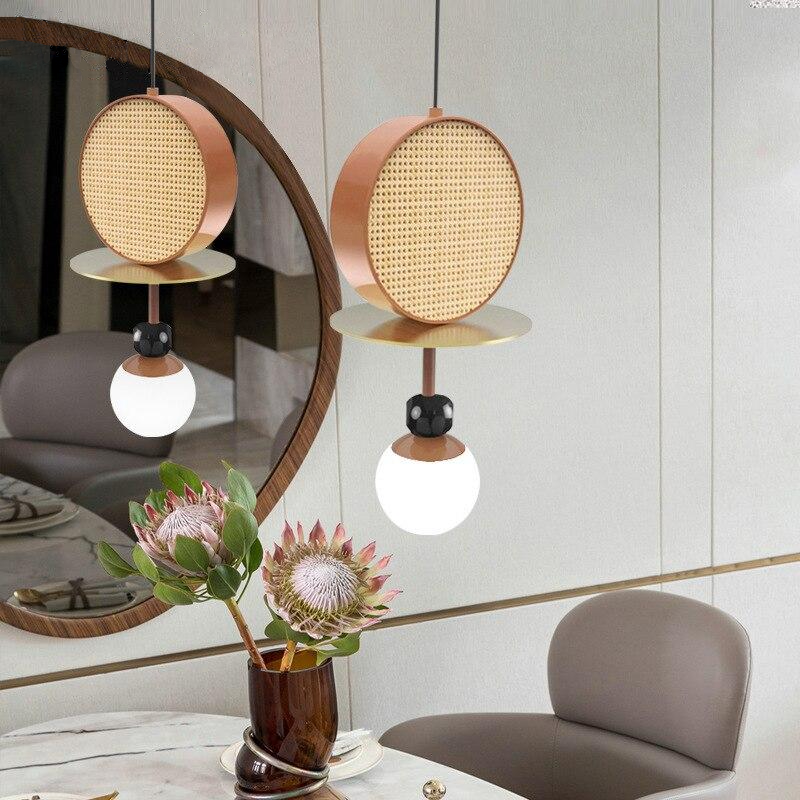 round gmetal glass stone globe frosted glass pendant light
