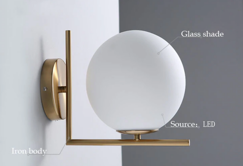 Ball of Light Wall Sconce
