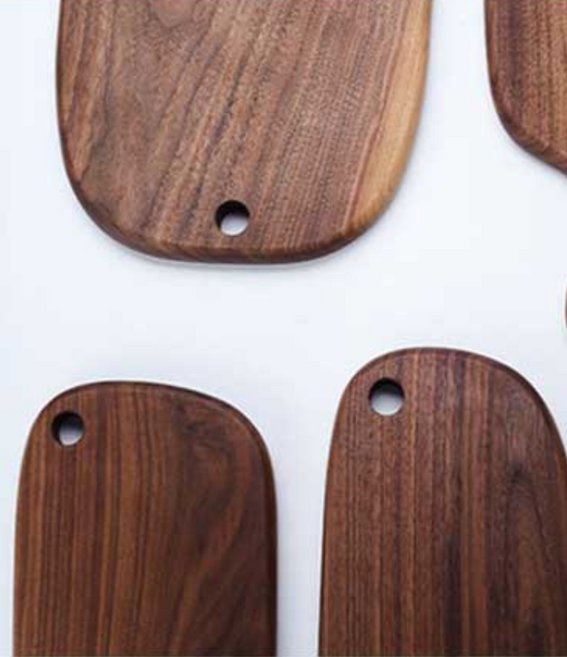 Natural Black Walnut Cutting Boards & Trays