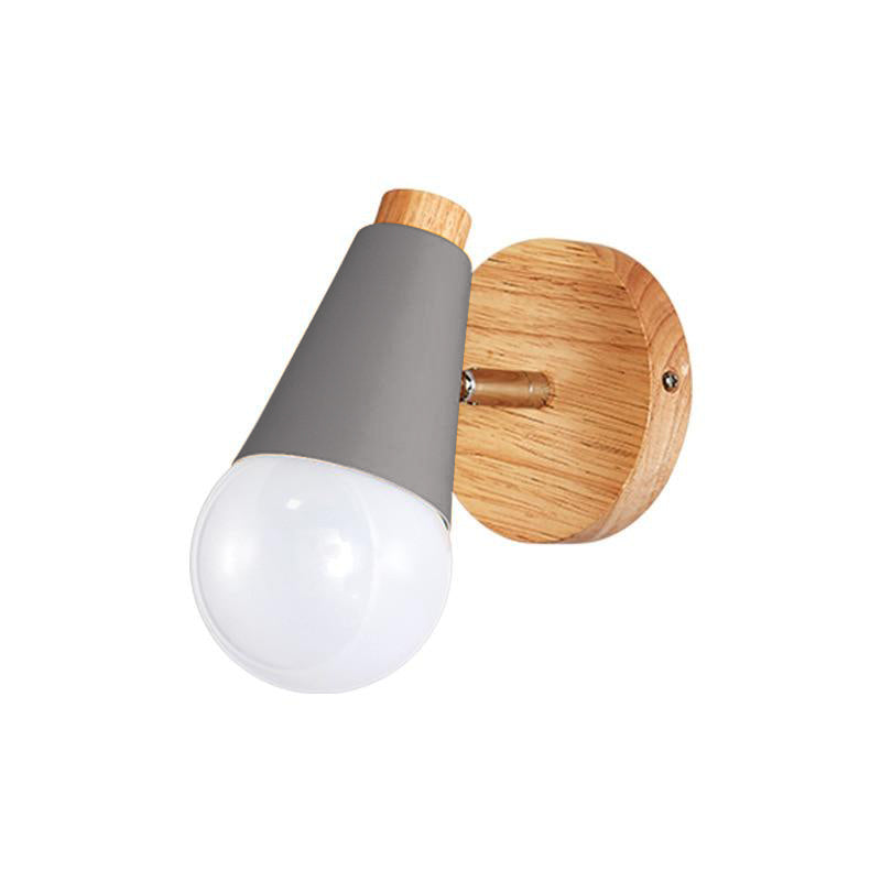 grey Cone Wall Sconce lamp