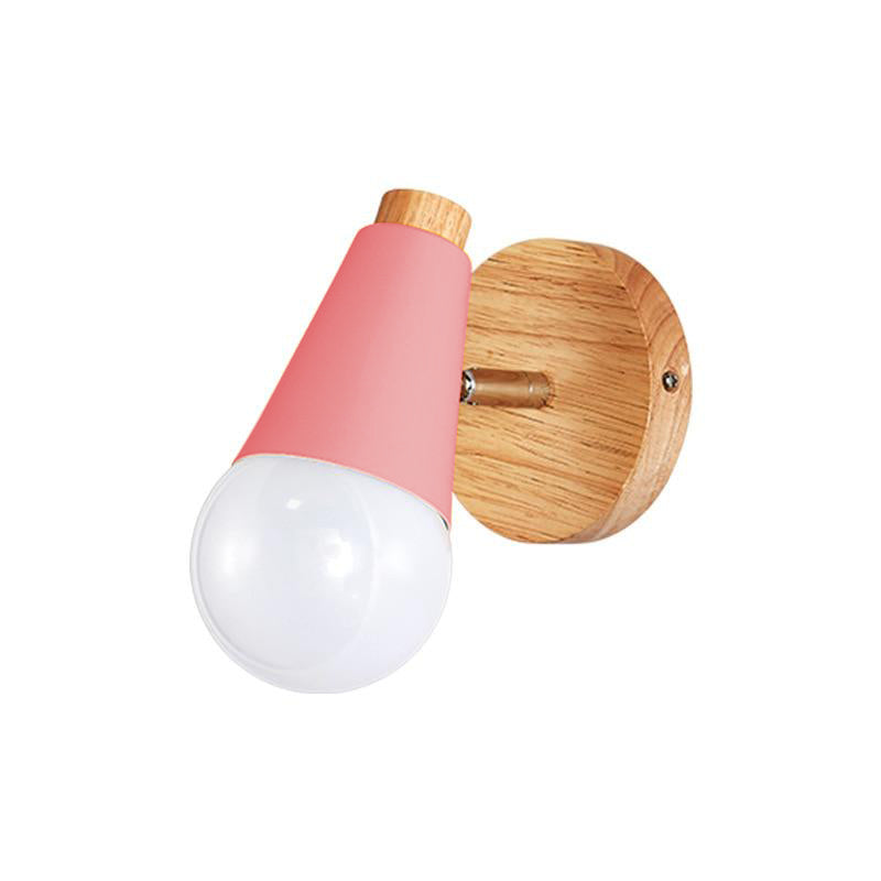 pink Cone Wall Sconce lamp