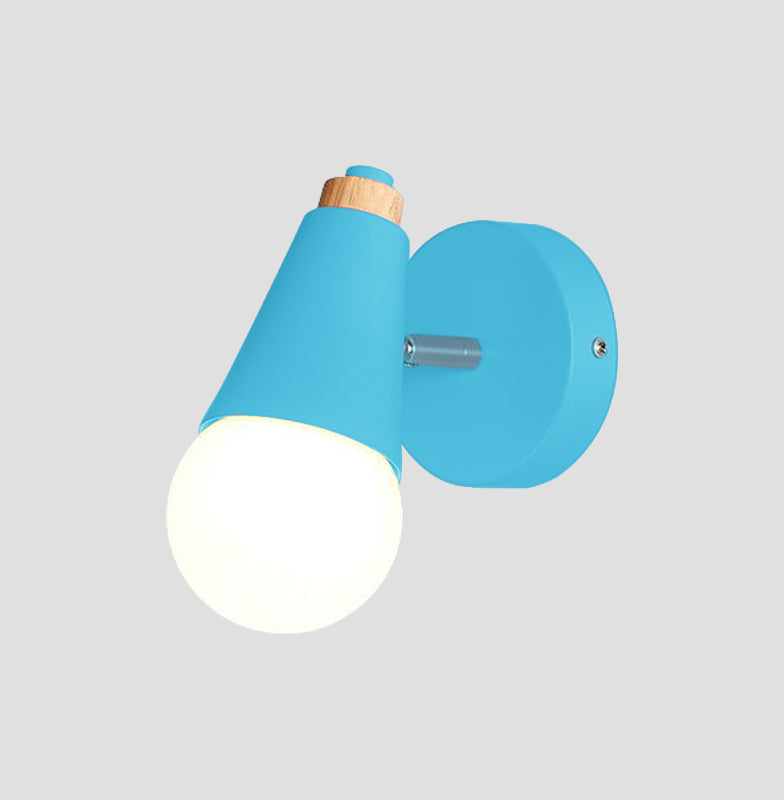 blue Cone Wall Sconce lamp